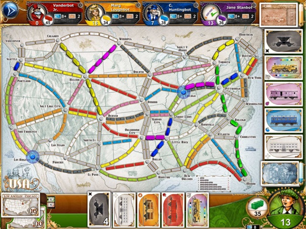 Ticket to ride game app