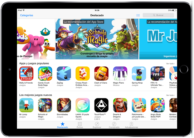 Five new iPad game apps to play right now
