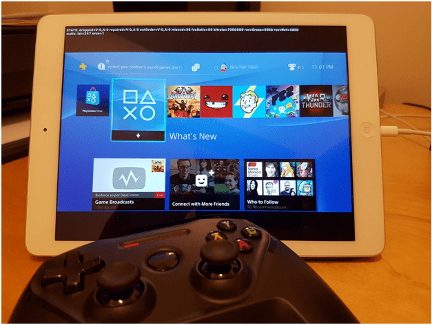 play PlayStation 4 games on your iPad
