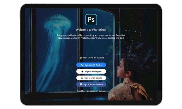 Adobe photoshop app for ipad