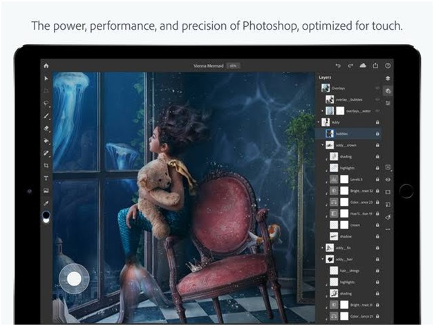 Adobe photo shop for iPad