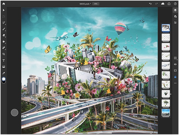 Adobe Photoshop app for iPad is now available to download