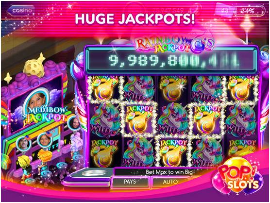 huge jackpots to win in pop slots