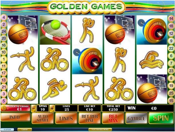 play golden games pokies online