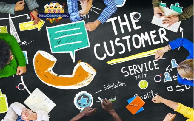 Ask the customer service