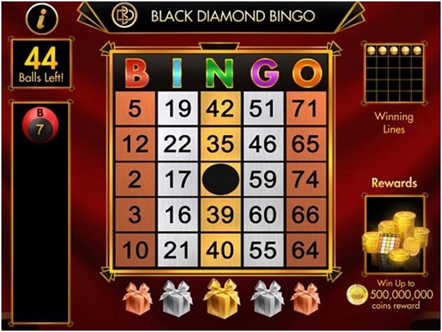 Bingo game to play at diamond casino
