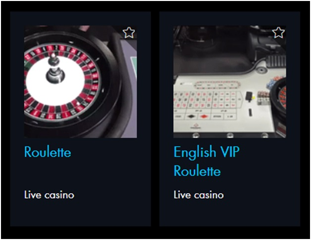 english VIP roulette at winward