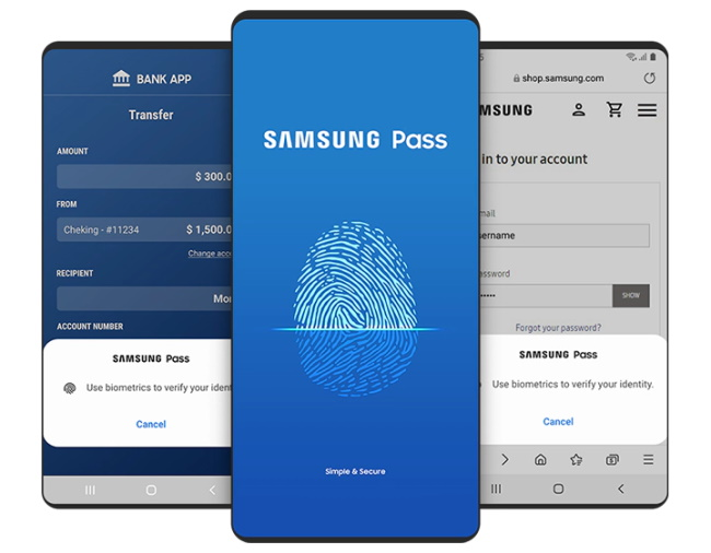Bonus Samsung Pass