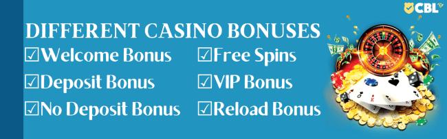 Latest Casino Bonuses, Match, Welcome, Free And No Deposit Bonuses