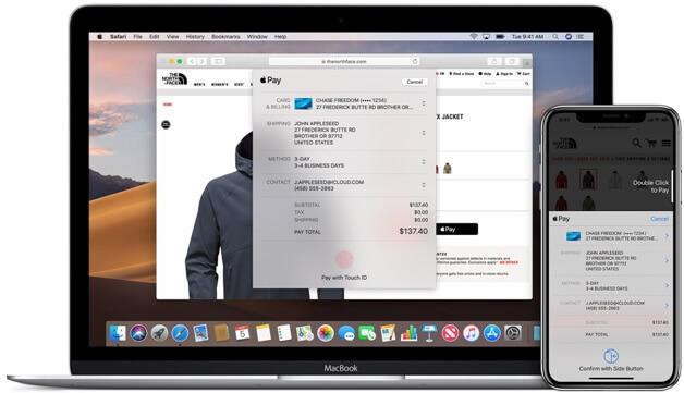 Apple Pay on Mac