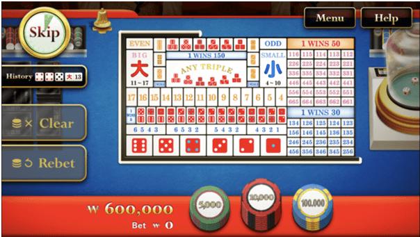 Bets in Tai Sai
