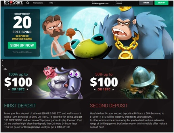Bitstarz Casino- Bonuses