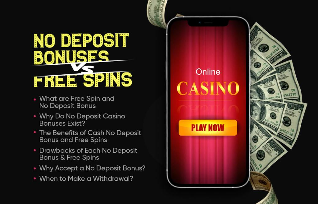 Cash No Deposit Bonuses VS Free Spins