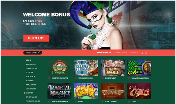 Casino Mate New Zealand online casino