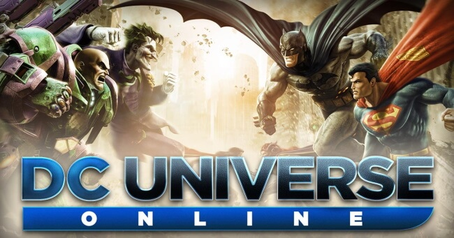 DC Universe Online-6 Best Superhero Games of all Time