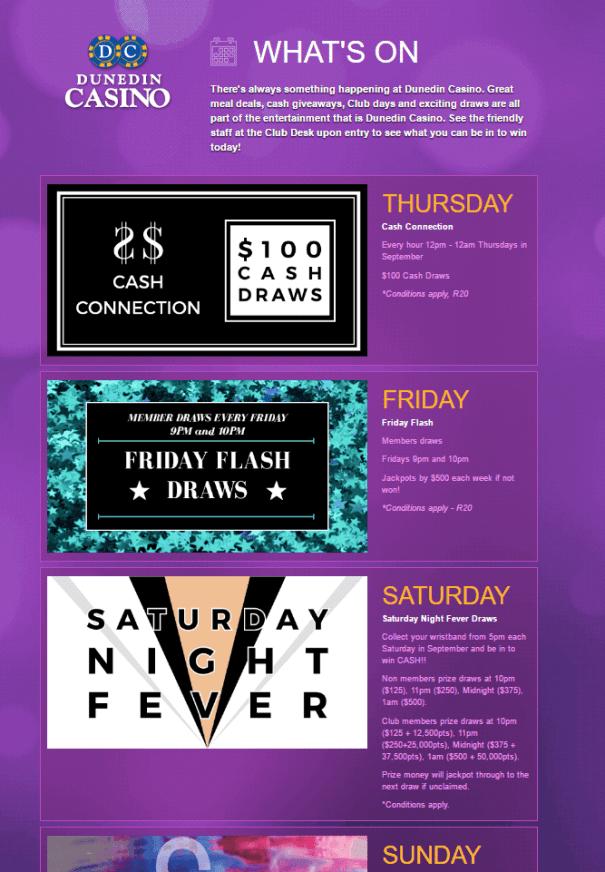 Dunedin Casino Offers