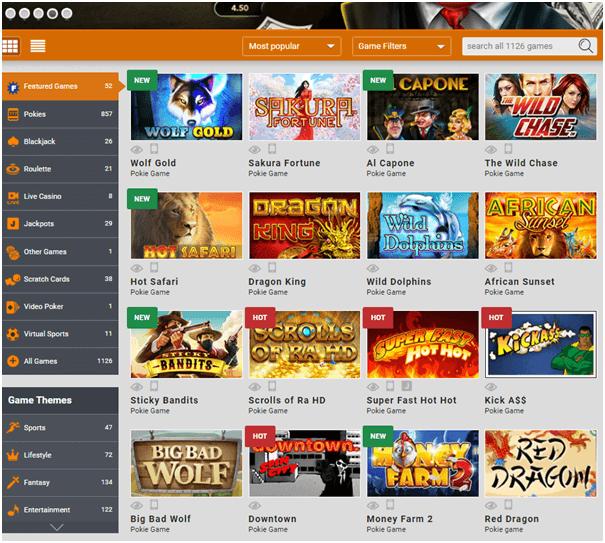 EMU Casino NZ- Play pokies in real time