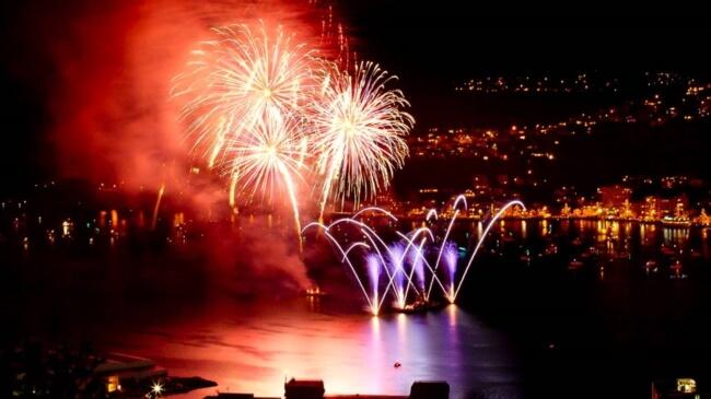 Fireworks at Wellington