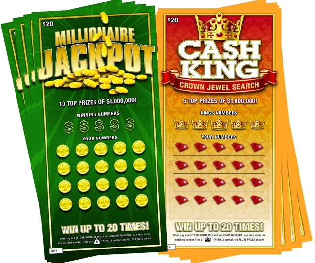 Free Fake Online Scratch Cards