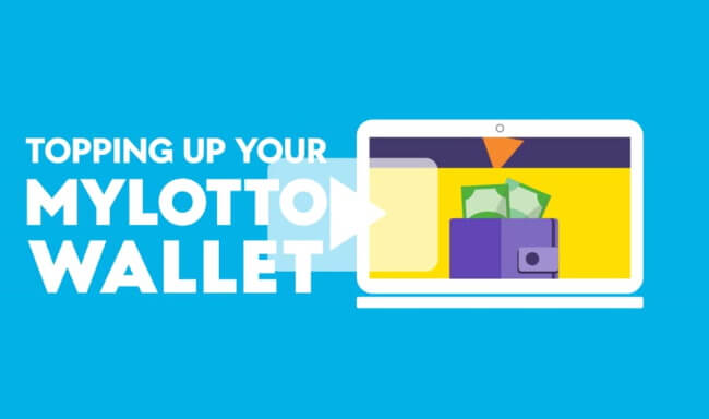 Here's how to deposit funds to your MyLotto wallet