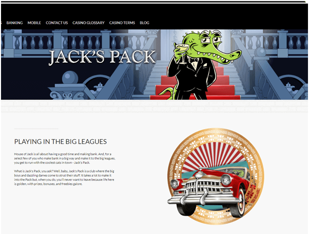 House of Jack NZD casino VIP Bonus
