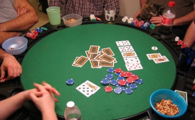 poker party idea