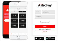 How to make deposit with Astropay
