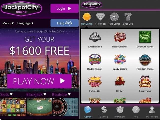Jackpot city Mobile NZ