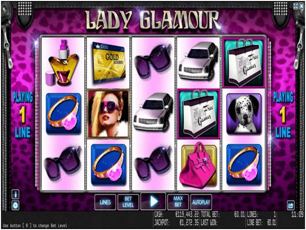 Lady Glamour pokies