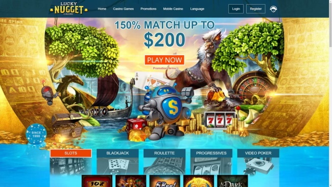 Lucky Nugget Casino NZ - Mobile Casinos in NZ for 2021