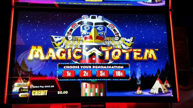 Magic Totem pokies.jp