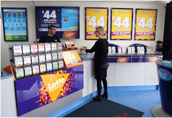 MyLotto NZ retail store