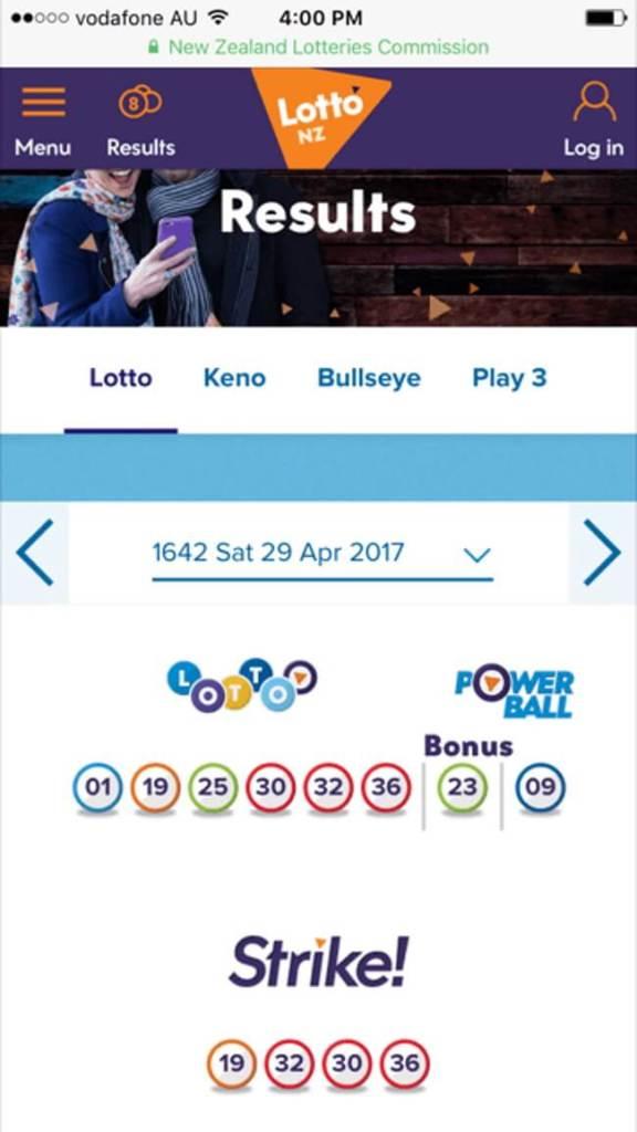 MyLotto Website