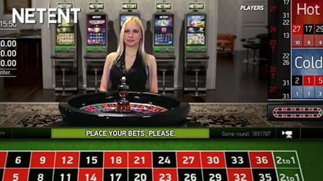Net Entertainment high stakes roulette