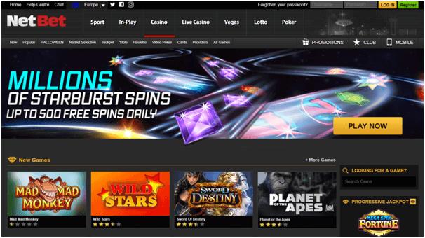 Netbet Btc casino