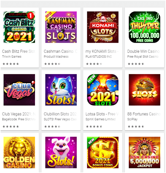 New games at the app store