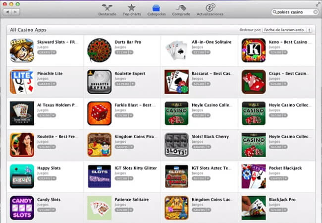 Open the App Store and search for games