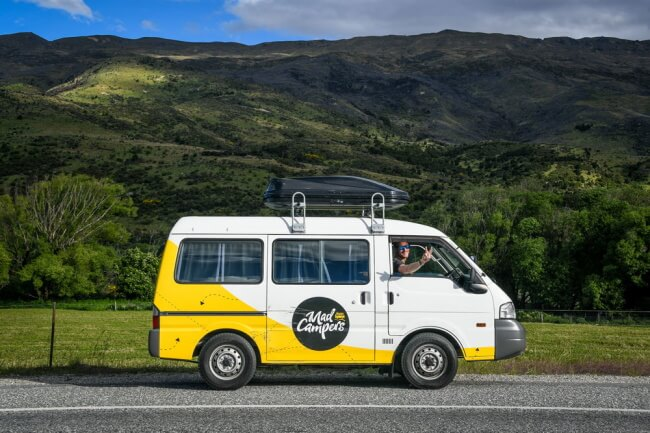 Pick the right vehicle -drive to lush and beautiful New Zealand