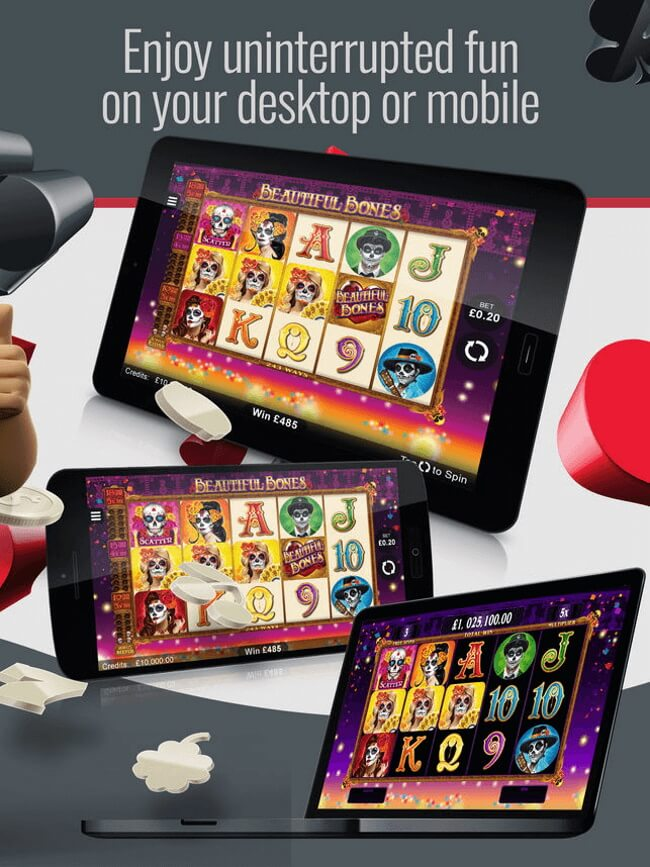 Platinum Play Casino on your mobile and desktop
