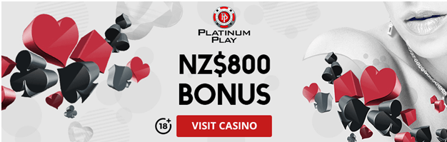 Platinum play casino mobile NZ bonus