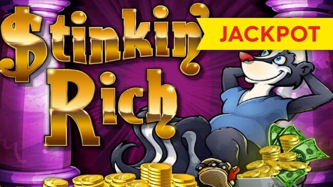 Play Stinkin' Rich and Win up to 325 Free Spins