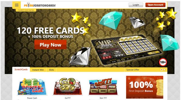 Prime scratch cards NZ