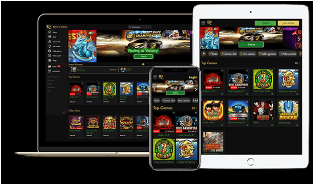 Rich Casino - online casino for NZ players