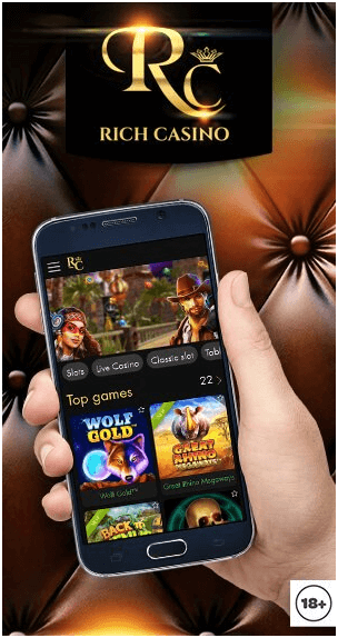 Rich casino mobile online casino
