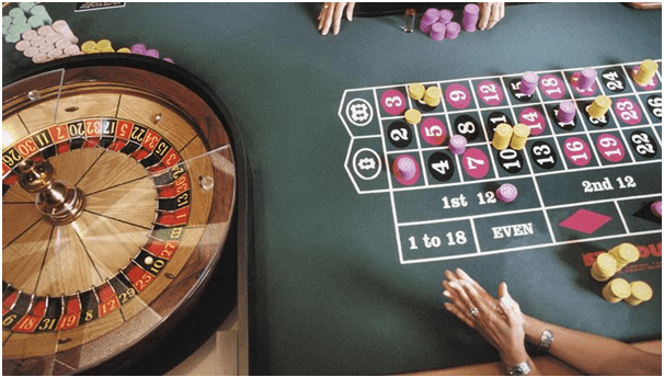 Table limits for Roulette