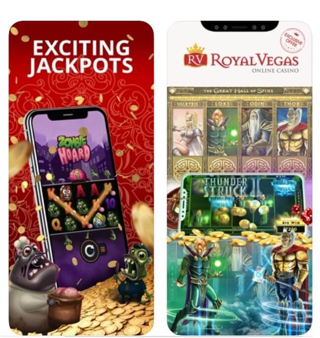 Royal Vegas pokies for mobile