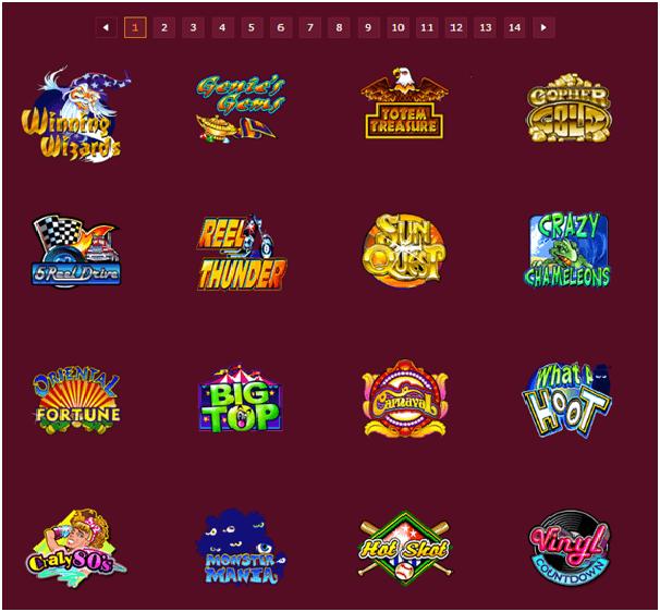 Ruby Fortune Casino Games