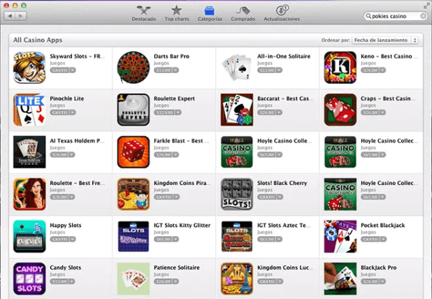 Search games for iPad