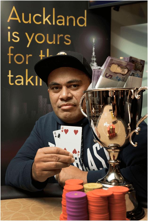 Skycity Poker winner