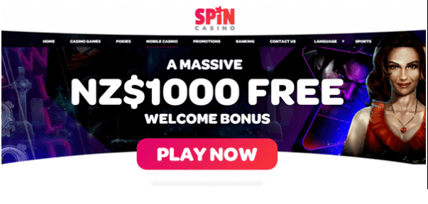 Spin Casino Mobile bonus